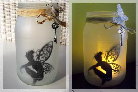Lampion z uwięzioną wróżką - czyli spełnij moje trzy życzenia :)