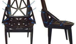 KROK V – Wyznaczanie miejsc przykręcenia siedziska, oparcia i podłokietników