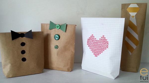 Eko torebki na prezent dla mężczyzny