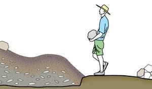 KROK III - Układanie kamieni
